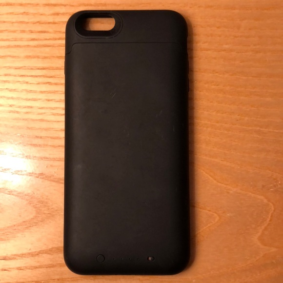 reputable site f6a2b 94bab iPhone 6 Plus black mophie charging case